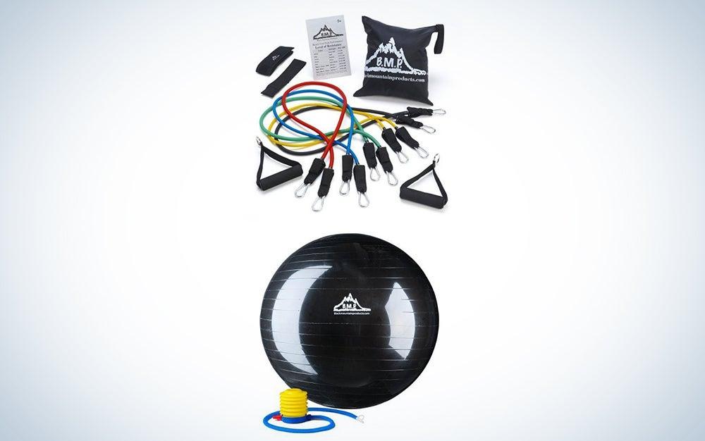Black Mountain exercise gear