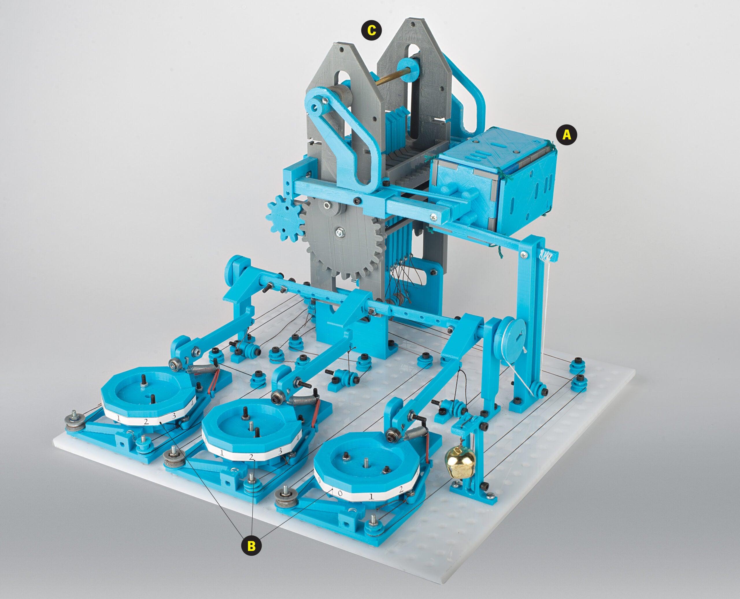 A 3-D Printed, Hand-Cranked Computer