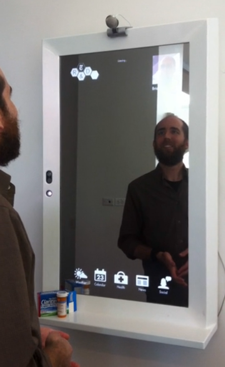 NY Times' Kinect-Assisted Mirror Delivers News, Coupons and Fashion Tips As You Brush Your Teeth