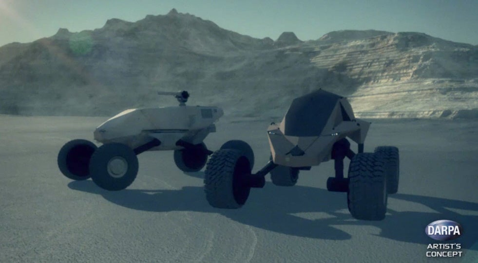 DARPA's Future Tank Will Think Its Way Out Of Fights