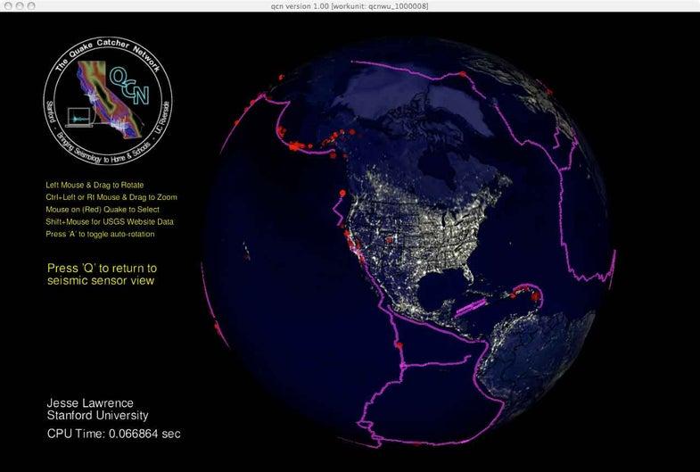 'Quake Catcher' Software Converts Laptops Worldwide into Earthquake Sensor Network