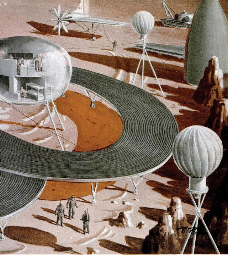 A hypothetical colony on Mars