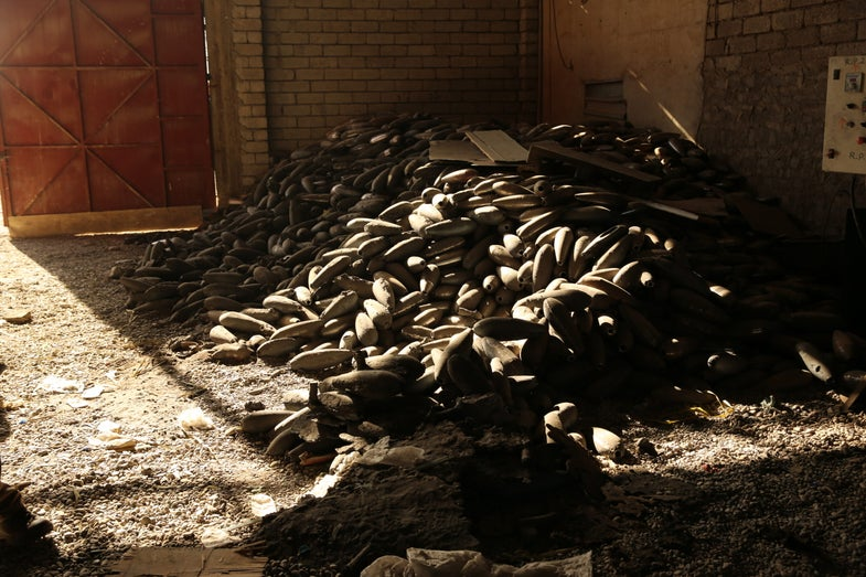 ISIS mortar production facility, Gogjali