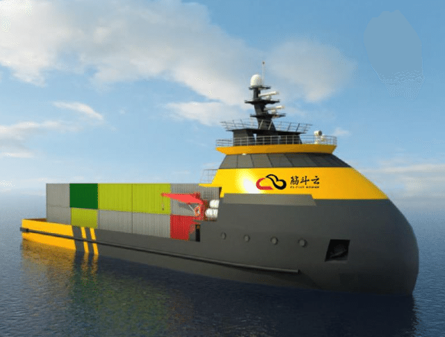 Yunzhou Tech Jin Dou Yun China robot unmanned ship