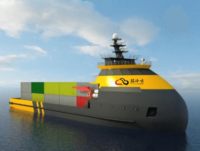 Yunzhou Tech Jin Dou Yun China robot unmanned ship