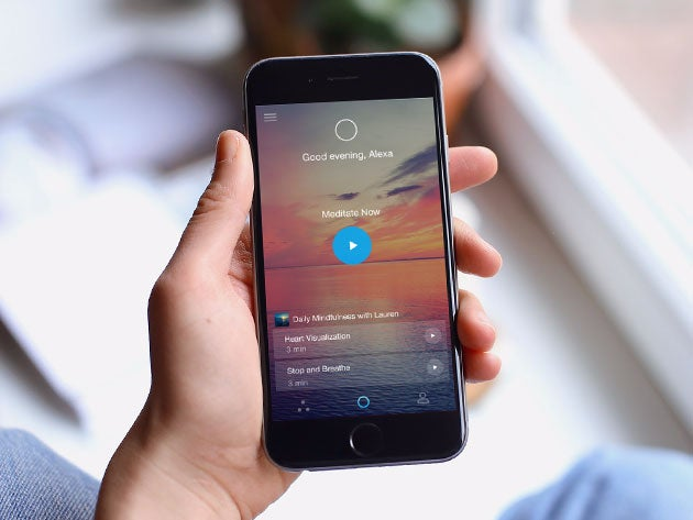 Aura helps you relieve stress with 5-minute meditations