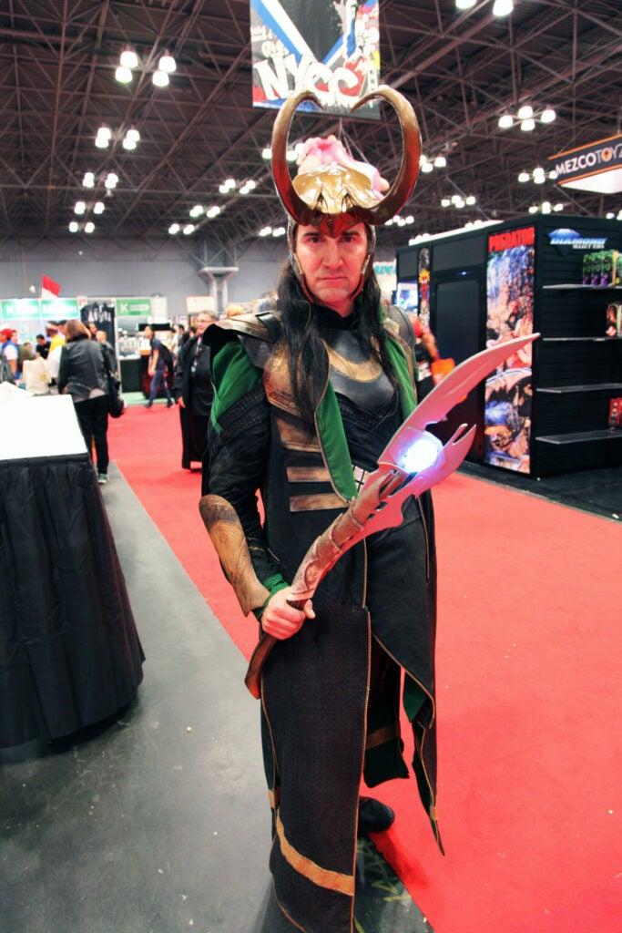 Steve as Loki
