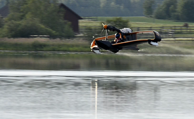 Video: Single-Seat Amphibious FlyNano Makes its Maiden Flight
