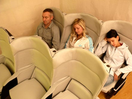 Delta Rolls Out Fancy Seats for Plebeians