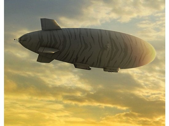 Blue Devil Airship is Getting a Super-High-Speed Optical Laser Downlink Upgrade