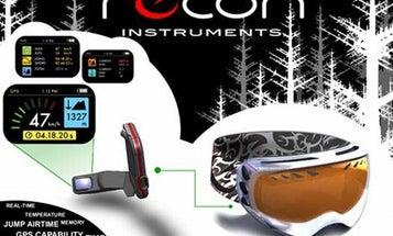 Head-Up Display Brings Ski Goggles Into the Future