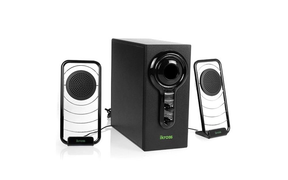 A hi-fidelity LED speaker with a subwoofer for 70 percent off? Yeah, I'd buy it