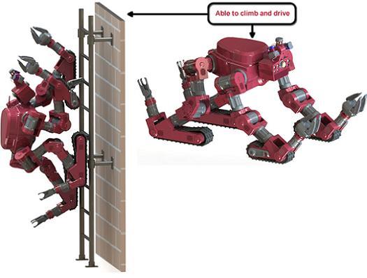 Carnegie Mellon Is Building A Robot Chimp That Doubles As A Tank