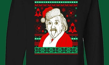 Our favorite science-themed ugly Christmas sweaters