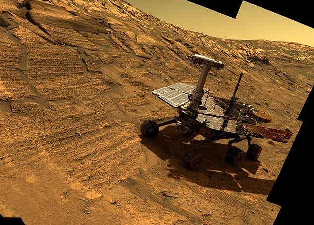 Today On Mars: Opportunity Begins Its 10th Year Of Mars Roving