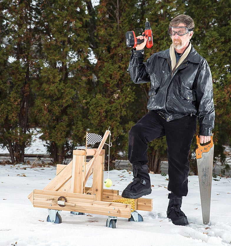 How To Build A Roman Catapult In Your Backyard
