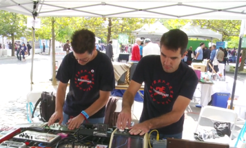 World Maker Faire 2014: Turning Junk Into Music