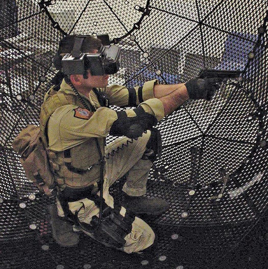 Human-Sized Hamster Ball Lets You Play in Virtual Worlds