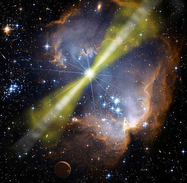 The Week In Numbers: The Brightest Explosion Ever, A Ticket To The Moon, And More