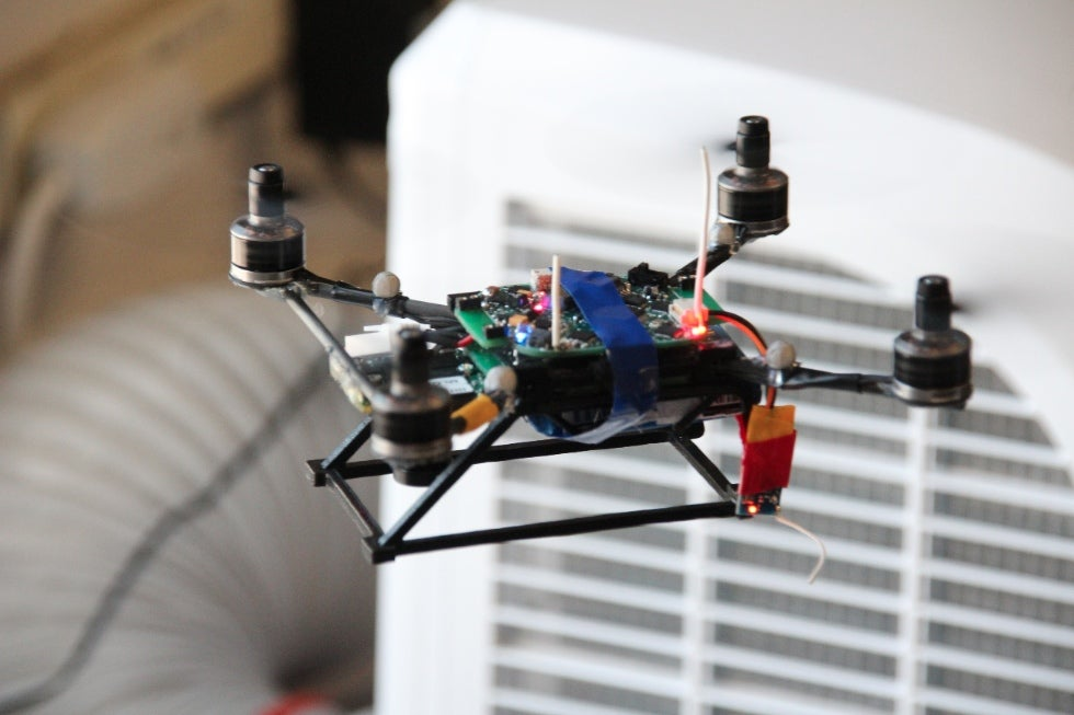 Inside The Swarming Quadrotor Lab Of KMel Robotics