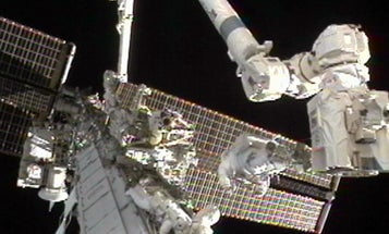 ISS Astronauts Free Stuck Cooling Pump At Last