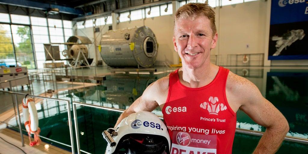 ESA Astronaut Will Run The London Marathon From Space