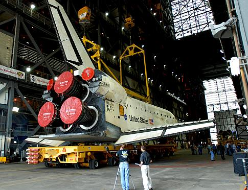 Fly Me to Mars, Shuttle-Style