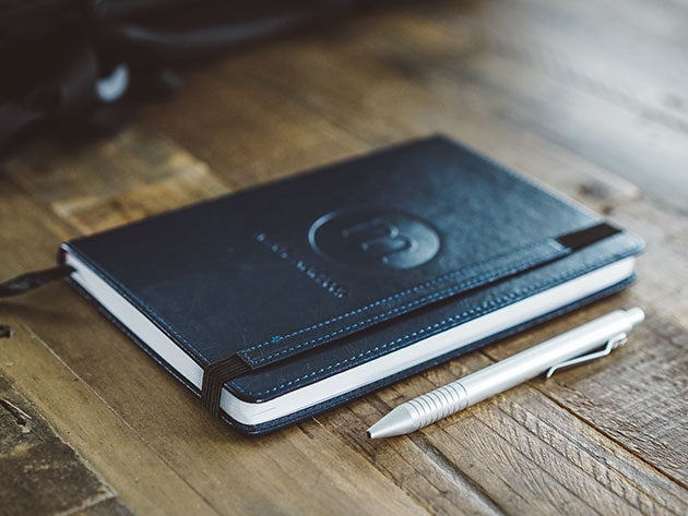 The Mindful Notebook helps you stay focused and reflect on things that matter