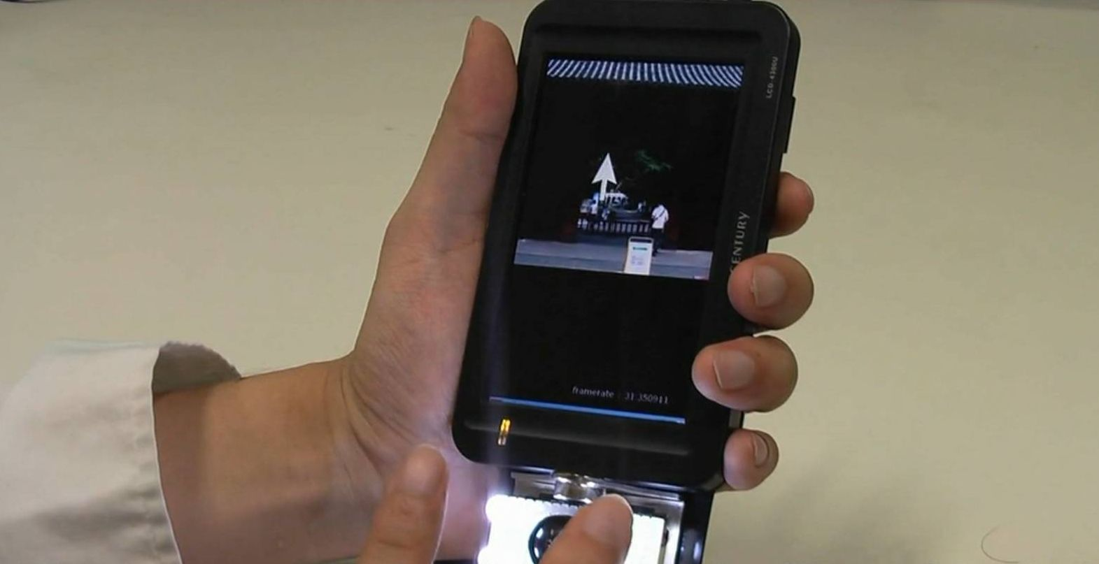 High-Speed Camera Enables Touchless Gesture Control of Smartphones