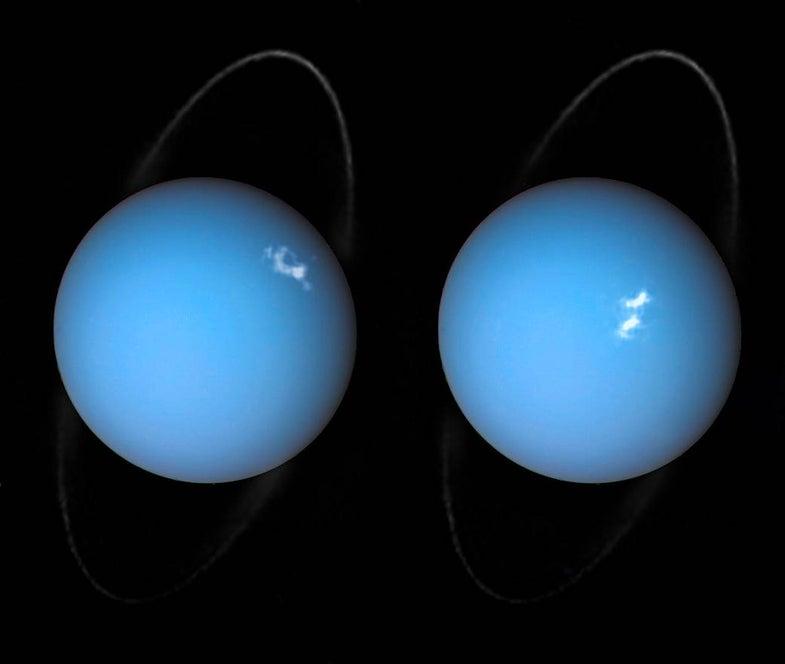 Dazzling light show spotted on Uranus