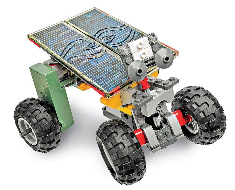 A Simple Solar Rover
