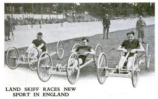 Land Skiff Races: December 1930