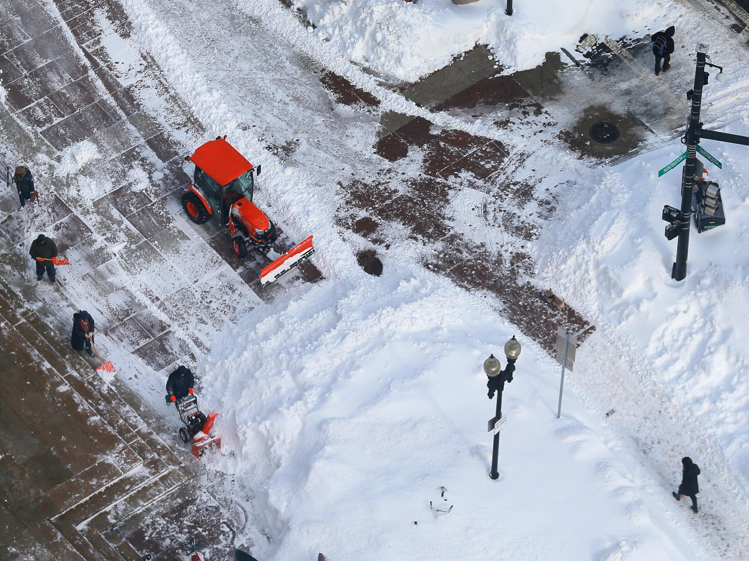 Go Ahead, Boston, Dump Your Snow Into The Harbor