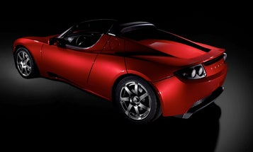 Tesla Roadster Electric Supercar Begins Production