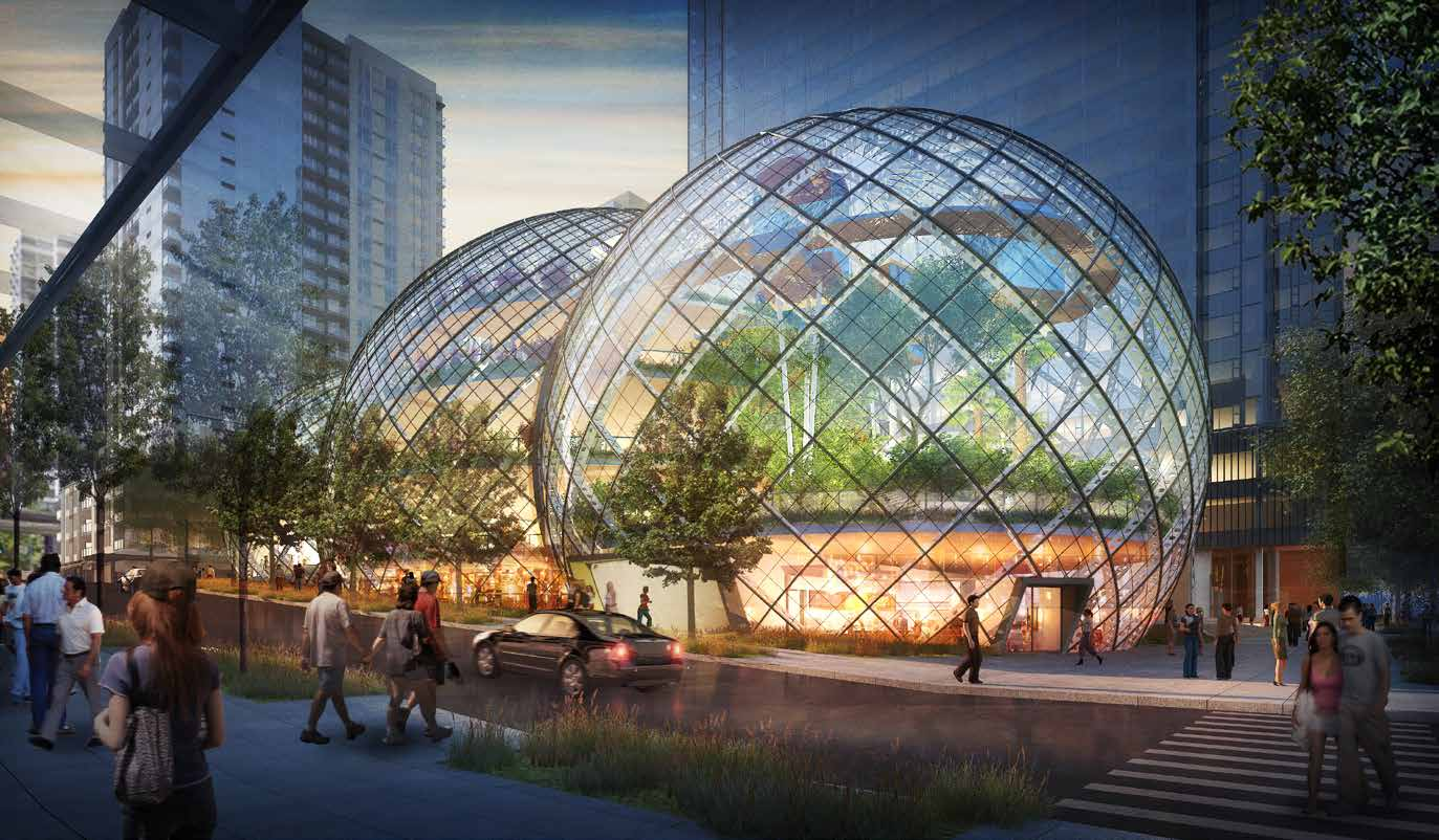 Is Amazon's Dome Headquarters The Workspace Of The Future?