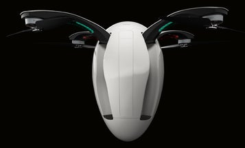 An Egg-Shaped Drone Built To Nestle Into A Backpack