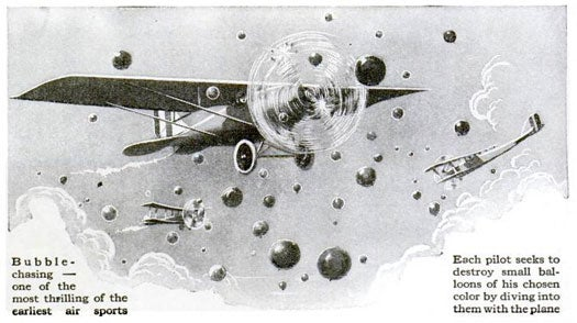 Bubble Chasing With Planes: September 1924