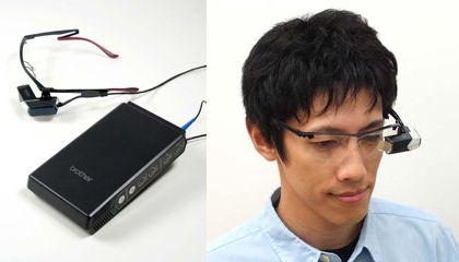 High-Tech Glasses Beam Info Directly Onto Your Retinas
