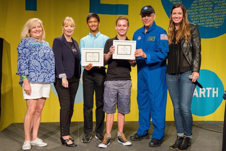 Future Engineers Challenge winners