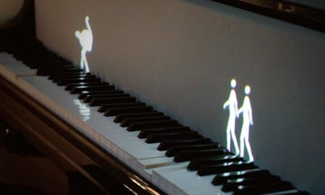 Learn Piano By Watching These Dancing Holograms