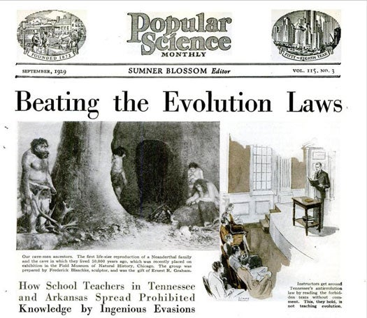 Archive Gallery: In Defense of Evolutionary Theory