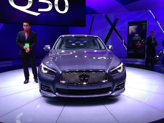 Detroit Auto Show 2013: New Infiniti Augurs A Future Without Steering Wheels