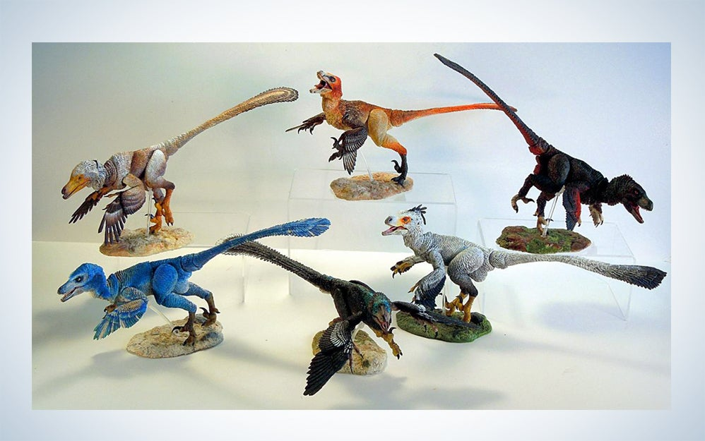 Scientifically-accurate dinosaurs