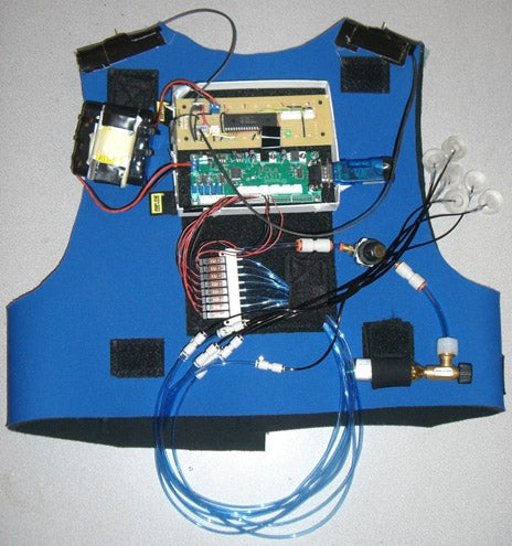 Vest Uses Accelerometers and Balloons to Improve Wearer's Balance