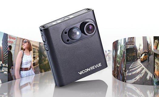 Liveblogging Life With the Wearable Vicon Revue Camera