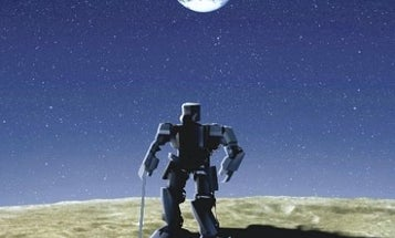 Bipedal Japanese Robot Will Walk on the Moon by 2015