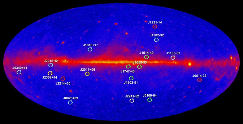 """Pulsars Could Provide """"Galactic GPS"""" for Detecting Gravitational Waves"""