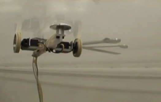 Video: Robot's Supersonic Air Jets Allow it to Climb Just About Any Surface