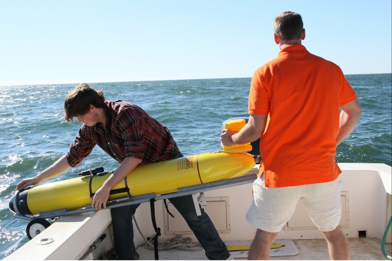 Underwater Gliders Gather Data To Help Predict The Next Big Storm