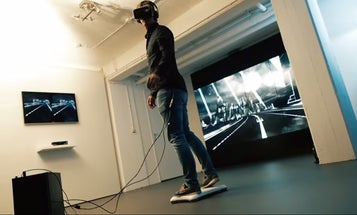 There's Finally A Working Hoverboard–In Virtual Reality